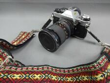 Vintage Canon AE-1 Program 35mm SLR Camera w Lens Promaster 28-70mm 1:2.8-4.5