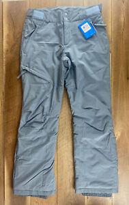 NWT Columbia Womens Kick Turner Insulated Snow Pants Medium  Grey Ash