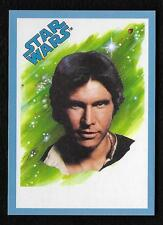 2017 Topps Star Wars 1978 Sugar Free Wrappers HAN SOLO Blue Parallel #40/75