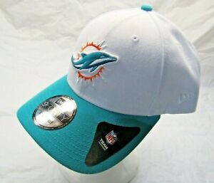NFL Miami Dolphins New Era 9FORTY The League Teal & White Adjustable Hat