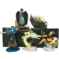 5pcs Tonari no Totoro Spirited Away Howl's Moving Castle Anime Figures Figurine