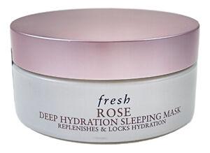 Fresh Rose Deep Hydrating Sleeping Mask Replenishes, New & Sealed!