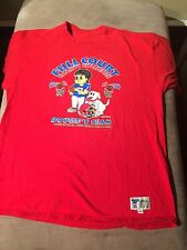 Vintage Reebok 90s Doug Flutie Full Court Charity Challenge T Shirt Made In USA