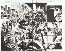 Bishop: XSE #1 p.2 - Radical Terrorist Group: Fanatix DPS - 1998 by Steve Epting