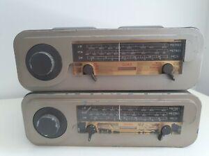 Quad valve radio head unit MW SW1 SW2 Acoustic Mfg AM SW etc. Untested