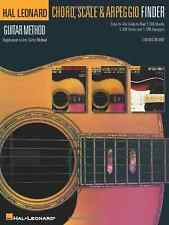 Hal Leonard 00697410 Guitar Chord Scale & Arpeggio Finder - Hal Leonar