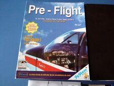 Pre flight Kit para Flight sim 5 Juego PC 3 1/2 IBM - Español completo - S4