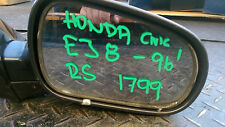HONDA CIVIC EJ 8 96' R DRIVER  SIDE MIRROR in gunmetal grey  # 1799