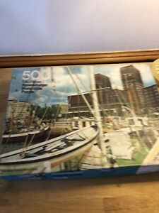 Vintage Jigsaw Puzzle Ravensburger World Wide 500 Pieces Oslo 625 5 176
