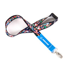 New Boeing Lanyard Belt with International World National Flags Image