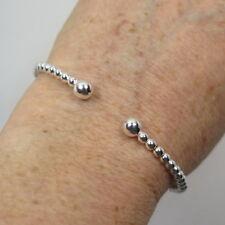 Armreif Kugeln Armspange Armband 925 Silber auffederbar jede Größe passend