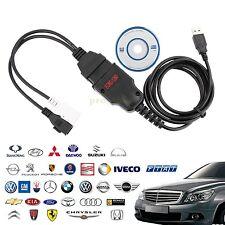 OBD2 ECU Car Diagnostics Cable VAG Interface Code Read Flasher Scanner tool