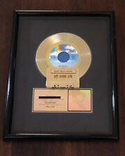 """JODY WATLEY """"REAL lOVE"""" RIAA CERTIFIED GOLD SINGLE AWARD"""