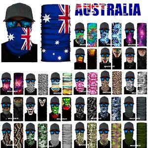 BANDANA BUFF Face Shield Mask Fishing Headwear Biker Skull Neck Scarf UV Masks