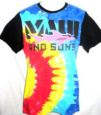 MENS MAUI AND SONS SHARK TIE DYE T-SHIRT SIZE XL