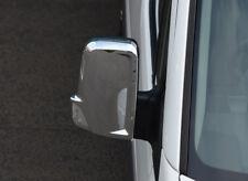 Chrome Rétroviseur Bordure Set Housses Pour Volkswagen crafter (2006-16)