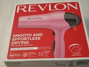 Revlon 1875W Frizz Control Lightweight Hair Dryer PINK