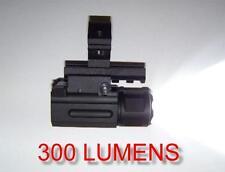 Tactical 300 Lumen Q.D. Flashlight + Mount  Fits 12 Gauge Remington 870 1100