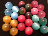 HOM Glass Marbles 20mm Beautiful Handmade marble - Nimbus shooter 6 colors