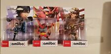 Amiibo 3 Pack Simon Incineroar Chrom Nintendo Switch Super Smash Bros. Ultimate