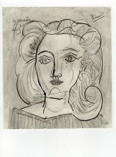 Pablo Picasso - Pencil Drawing - Portrait