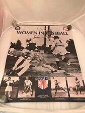 A Salute to Women in Baseball Poster Seattle Mariners 2000 Hall of Fame Print EC