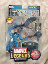 Marvel Legends Toy Biz Series V MISTER FANTASTIC w/comic 6? Action Figure NIB!