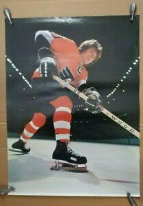 1975 PORTNOY FLYERS HOF'ER BOBBY CLARKE RARE VINTAGE NHL POSTER 18X24