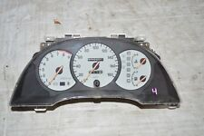 JDM TOYOTA CELICA ST202 WHITE CARBON FACE TOM'S AUTO KM/H GAUGE CLUSTER OEM