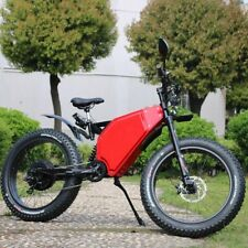 "Our Fabulous 3000w/72v Fat Tyre Electric bike - 26"" 29.29ah Battery"