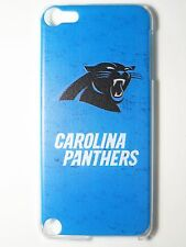 NFL Carolina Panthers Logo iPod Touch iTouch 5/6th Plastic One-Piece Slim Case