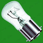 5x 25W Clear Pygmy Light Bulbs, BC, SBC or SES, B22, E14 or B15