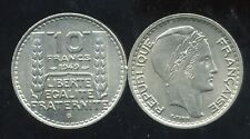 10 francs 1949 B    petite tete  SPL