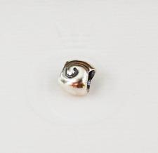 Genuine Pandora Charm Bead - Snail Shell - 790114 - retired