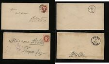 Austria  2  postal  envelopes         MS 0124