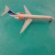 1:500 herpa wings SAS SCANDINAVIAN MD 80 NO BOX AVAILABLE