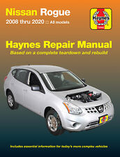2008-2020 Nissan Rogue Haynes Repair Service Workshop Shop Manual Book 23900