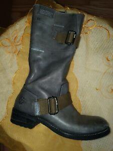 G-Star Raw  Stiefel  Damenschuhe Gr.38 UK 5 Grau