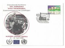 Vereinte Nationen UNO Wien Sonderbelege 1996 (3 Briefe)