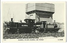 Bluebell Railway, Bluebell & Stepney Locomotives RP PPC Unposted By K Chown