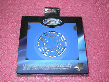 """IronTech IT-F1-BLU Supports Laptops from 8""""-15"""" USB Cooler Pad 60mm Fan (Bl"""
