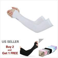 1 Pair Hand Cover Cooling Arm Sleeves Cover UV Sun Protection Outdoor Sport