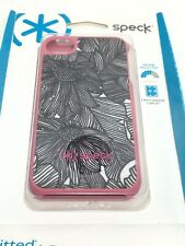 Speck Fitted iPhone Case 4/4S Pink Black White Floral Flower Phone