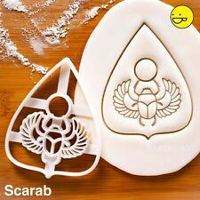 Planchette Scarab cookie cutter - medium spirit board paranormal Halloween party