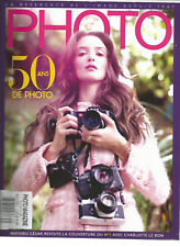 PHOTO FRENCH MAGAZINE #531 MAY/JUNE  2017, 50 ANS DE PHOTO