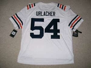 NEW L BRIAN URLACHER Chicago Bears Nike 100th SEASON LIMITED Throwback Jersey
