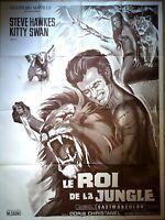 Plakat Kino Le König De La Jungle Filme Marbeuf - 120 X 160 CM