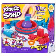 Kinetic Sand 2lb Sand & Tools Sandisfying Play Set New