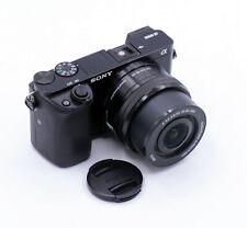 SONY ALPHA A6000 24.3MP CAMERA WITH 16-50mm F/3.5-5.6 PZ OSS LENS 8,734 CLICKS