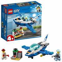 LEGO® CITY 60206 Polizei Flugzeugpatrouille, Kinder Spielzeug,Flugzeug, Airplane